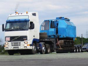 Особенности транспортировки тяжелых грузов